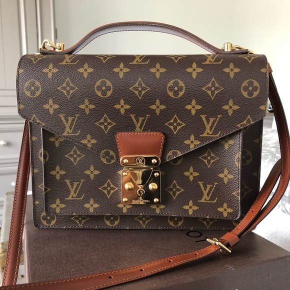 b6c1dc54def8 Louis Vuitton Handbags - Louis Vuitton Handbag Vintage Monceau